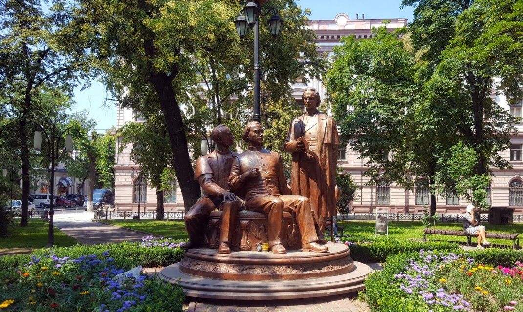 Monument to the Russian Trinity