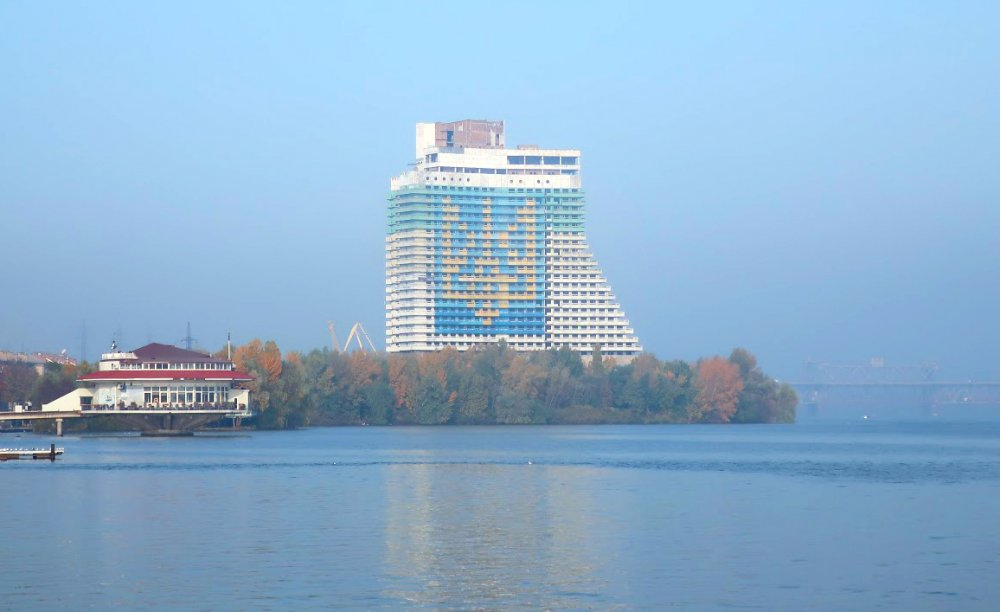 Unfinished Parus Hotel